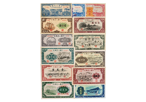 在荧光灯下识别十二生肖电子邮票