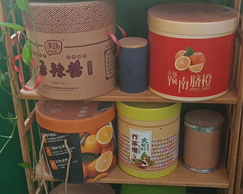 彩印包装纸桶