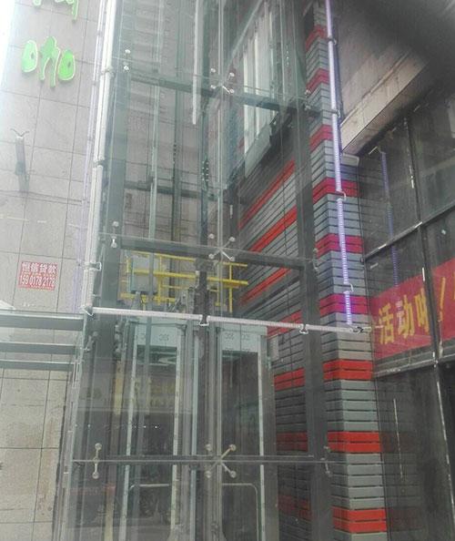 信丰县瑞茂商业管理有限公司观光电梯
