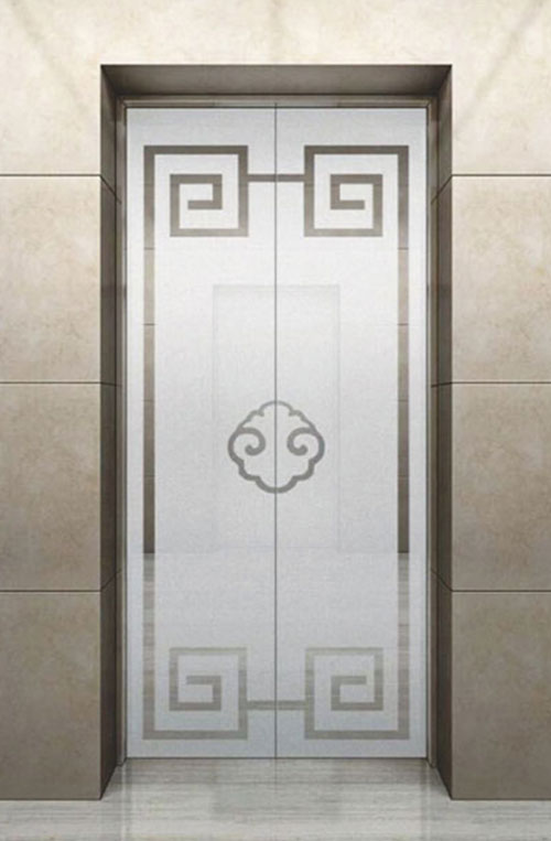 家用电梯厅门安装