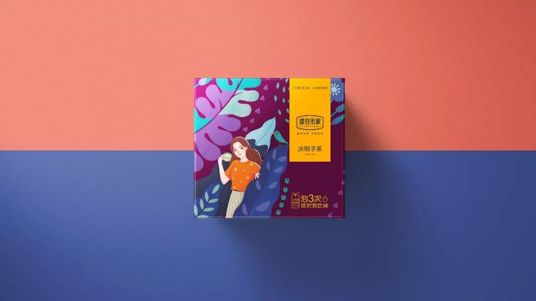 包装大师|花草茶包装设计の第2弹