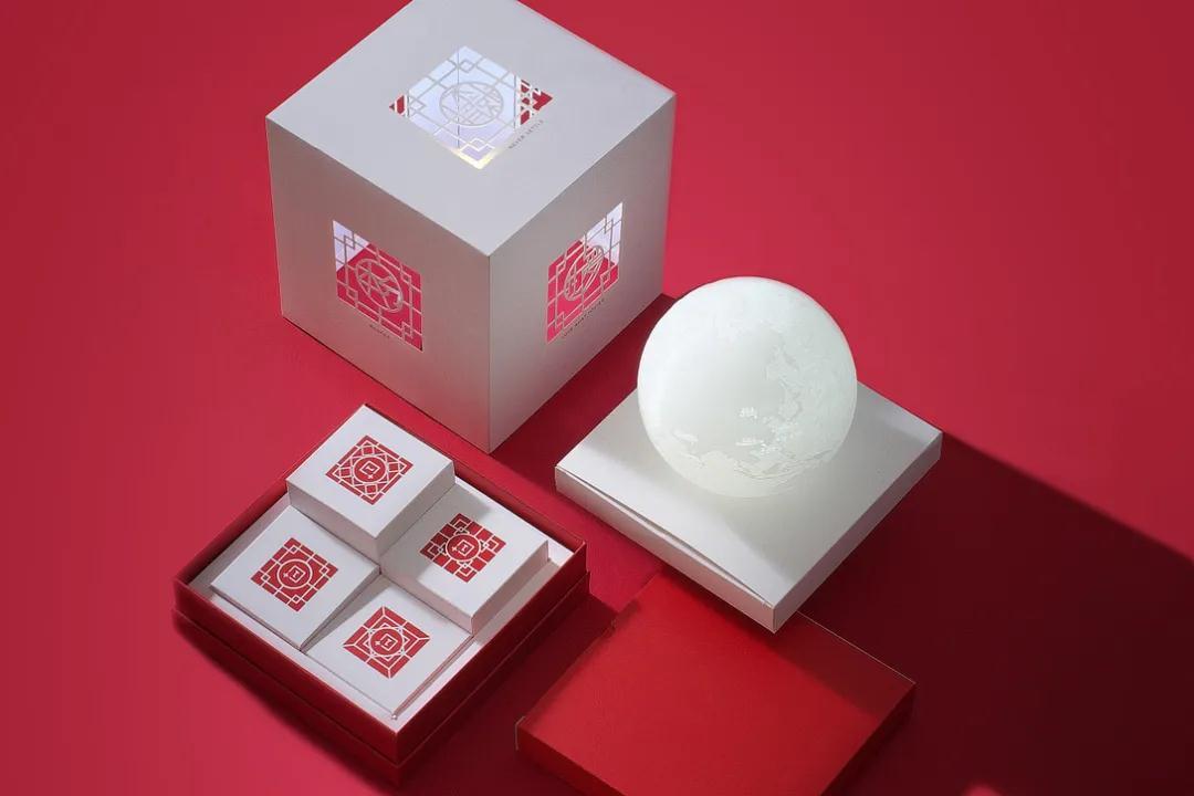 盒立方丨中秋礼盒包装设计分享2