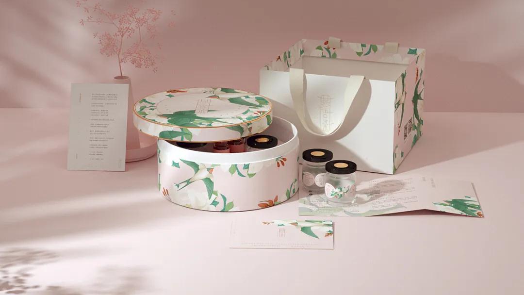 盒立方丨燕窝滋补品包装设计分享2