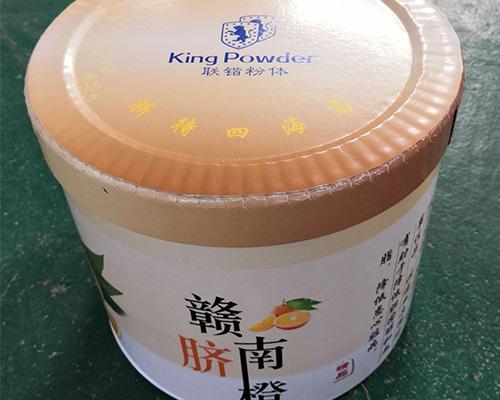 吉安彩印包装纸桶生产厂家